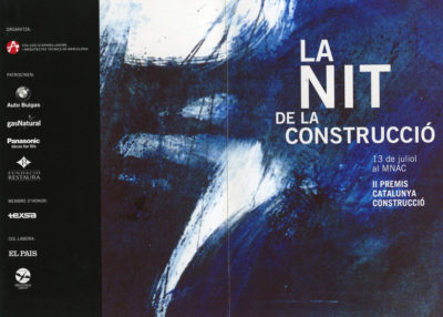 CARTELL LA NIT DE LA CONSTRUCCIÓ